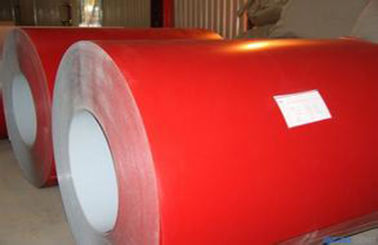 چین Red Roof Structure Prepainted Galvalume Steel Coil For Roller Shutter Door تامین کننده