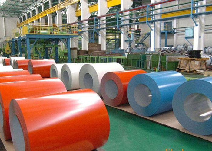 Electro Galvanizing Prepainted Galvanized Steel Coil For Steel Framing